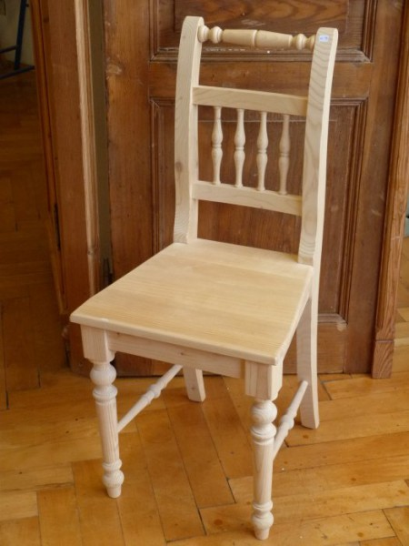Weißer Stuhl Perspektive
