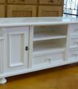 Wunderschönes weißes Sideboard