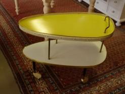 50er Jahre schicker Servier-Tisch
