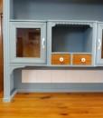 Küchenbuffet blau im Landhausstil
