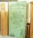 Kleiderständer Kreidegrün mit Audruck