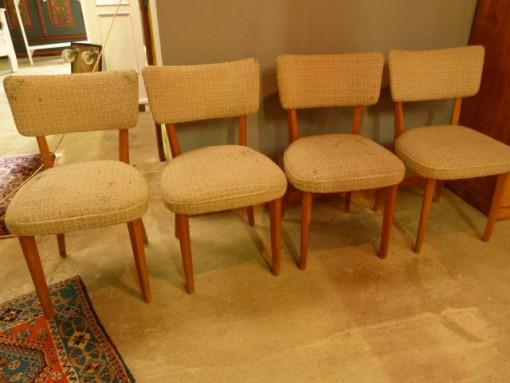 Thonet Stühle gepolstert