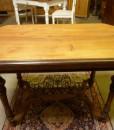 Antiker Tisch Nussbaum um 1880 Gründerzeit