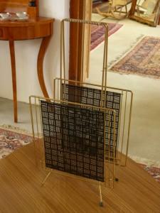 Metallaufsteller gold Antike Möbel